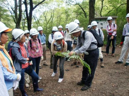 活動名:にしのみや都市型里山ボランティア育成セミナー<第1回>の写真